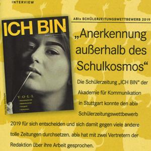 Interview der ICH BIN-Redaktion